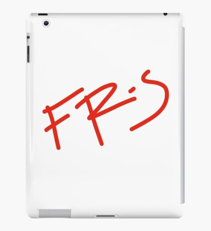 FR-S Fonts  iPad Case/Skin