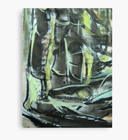 pass bamboo grove.... Canvas Print