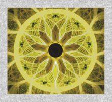 Yellow Rays One Piece - Long Sleeve