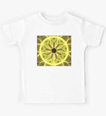 Yellow Rays Kids Tee