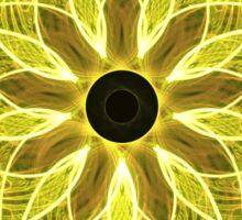 Yellow Rays Sticker
