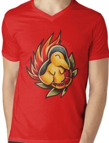 Cyndaquil  Mens V-Neck T-Shirt