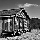 Stony Creek Cottage (B&amp;W) by Fred McKie