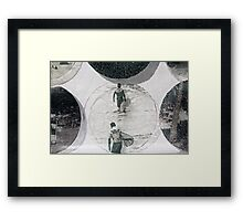 Heading In Framed Print