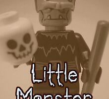 Little Monster - Frankensteins Monster Custom LEGO® Minifigure by 'Customize My Minifig' by Chillee