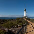 Pt Lonsdale Lighthouse - Rip Panorama by John Sharp