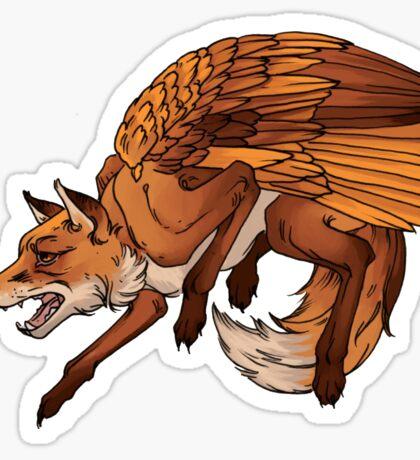 Flying Fox Sticker