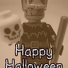 Happy Halloween Frankenstein's Monster Custom LEGO® Minifigure by 'Customize My Minifig' by Chillee