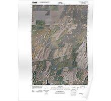 USGS Topo Map Washington State WA Pleasant View 20110404 TM Poster