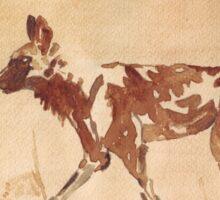 Painted Dog - African Wild Dog Sticker