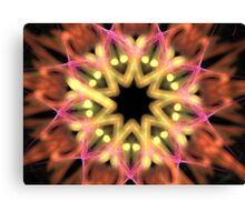 Starry Flower Canvas Print