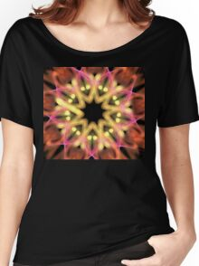 Starry Flower Women's Relaxed Fit T-Shirt