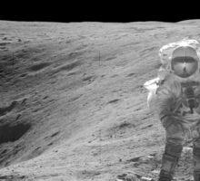 Moon Exploration Sticker
