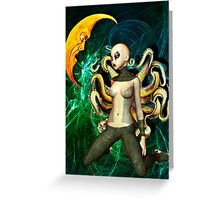 STRANGERS IN THE NIGHT Greeting Card