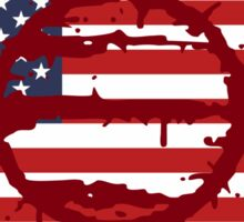 Hotline Miami: 50 Blessings On US Flag Sticker