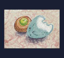 robin's egg with acorn cap Kids Tee