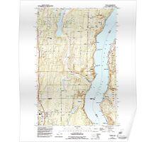 USGS Topo Map Washington State WA Olalla 242926 1953 24000 Poster
