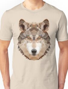 Intense Low Poly Wolf T-Shirt