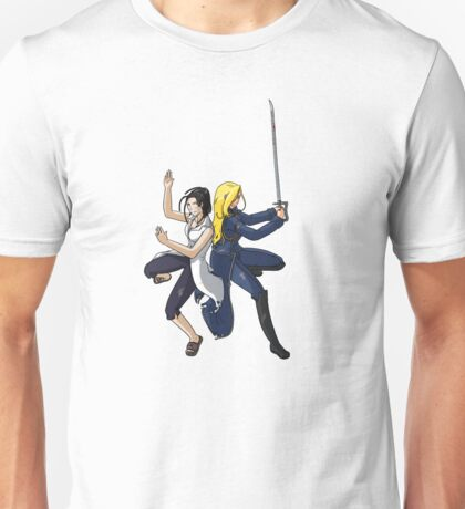 Izumi and Olivier Unisex T-Shirt