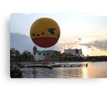 Characters In Flight Balloon Ride In Orlando, Fl Canvas Print