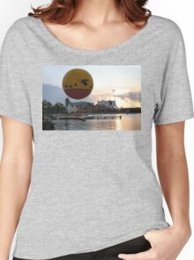 Characters In Flight Balloon Ride In Orlando, Fl Women's Relaxed Fit T-Shirt