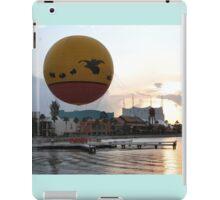 Characters In Flight Balloon Ride In Orlando, Fl iPad Case/Skin