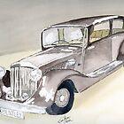 Bentley 1934 by Eva  Ason