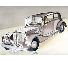 Bentley 1934 Photographic Print