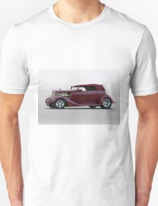 1934 Ford Vicky Convertible Unisex T-Shirt