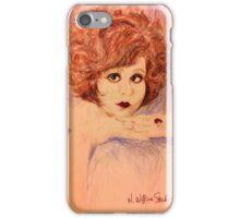 Clara, Redhead iPhone Case/Skin