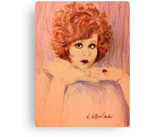Clara, Redhead Canvas Print