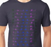 Flying birds seamless pattern Unisex T-Shirt