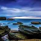 Oceans' Blues by Mark  Lucey