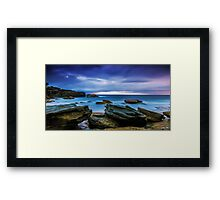 Oceans' Blues Framed Print