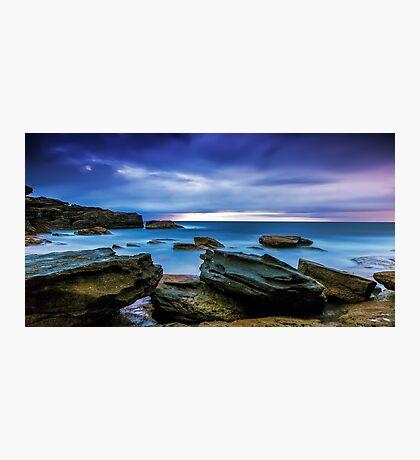 Oceans' Blues Photographic Print