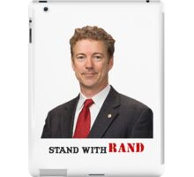 Stand with Rand design iPad Case/Skin