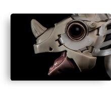 ROBOT DINOSAUR HEAD - TOY ROBOT Canvas Print