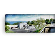 Greys Point Gun Fort Canvas Print