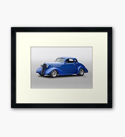 1936 Chevrolet Master Deluxe Coupe Framed Print