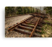 derailed Canvas Print