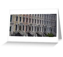 fake facade Greeting Card