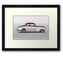 1940 Chevrolet 'Business' Coupe Framed Print