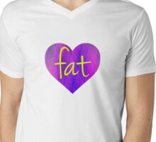 Love Fat (Purple and Yellow) T-Shirt