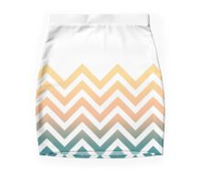 Zig Zag 80's Inspired Mini Skirt