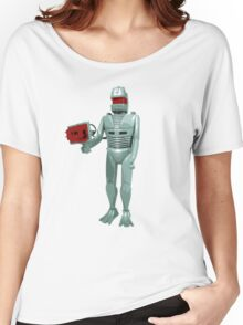 ROM the space knight - retro Action Man (or GI Joe) toy 8-bit style Women's Relaxed Fit T-Shirt
