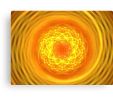 Citrus Spiral Canvas Print