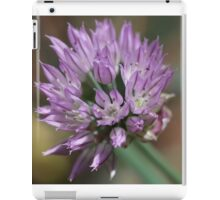 Chive flowering  iPad Case/Skin