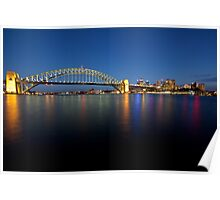 Sydney In The Blue Hour Poster