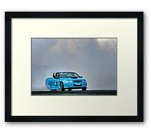 RUNAMUK Burnout Framed Print
