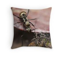 Mobile gold. Throw Pillow